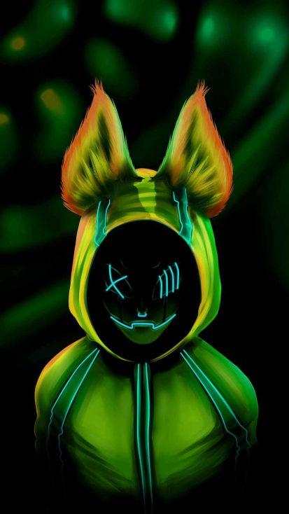 Rabbit Face iPhone Wallpaper