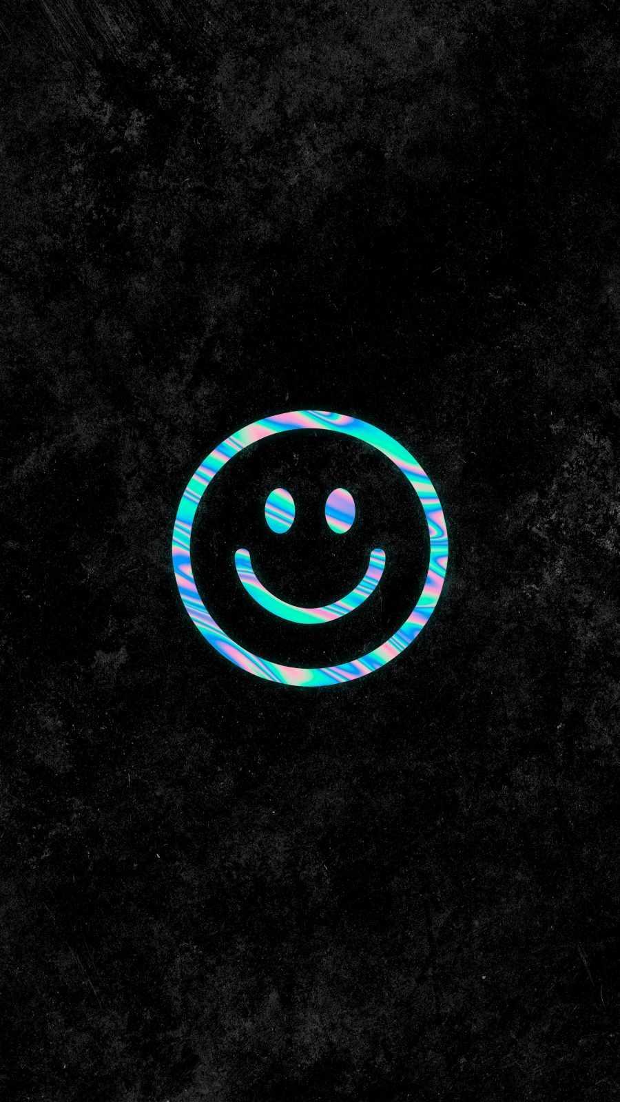 Smile Happy iPhone Wallpaper