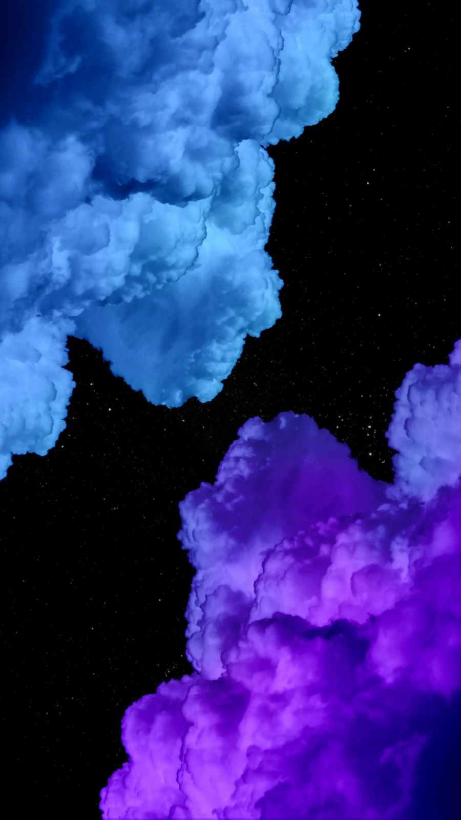Smoke Clouds iPhone Wallpaper 1