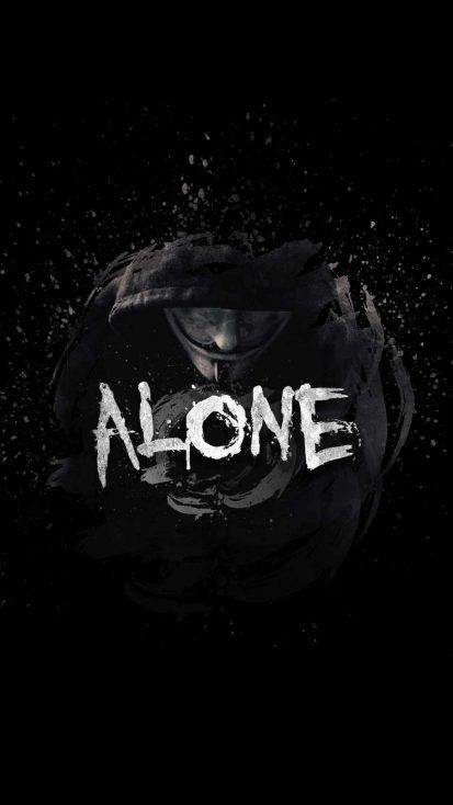 So Alone iPhone Wallpaper