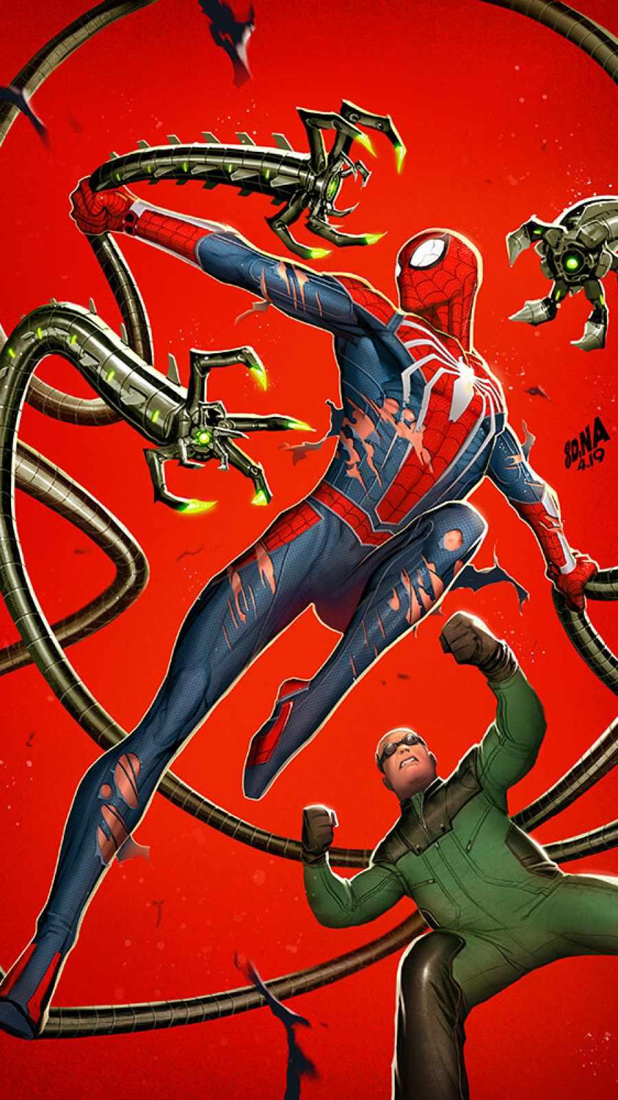 Spiderman vs Doctor Octopus