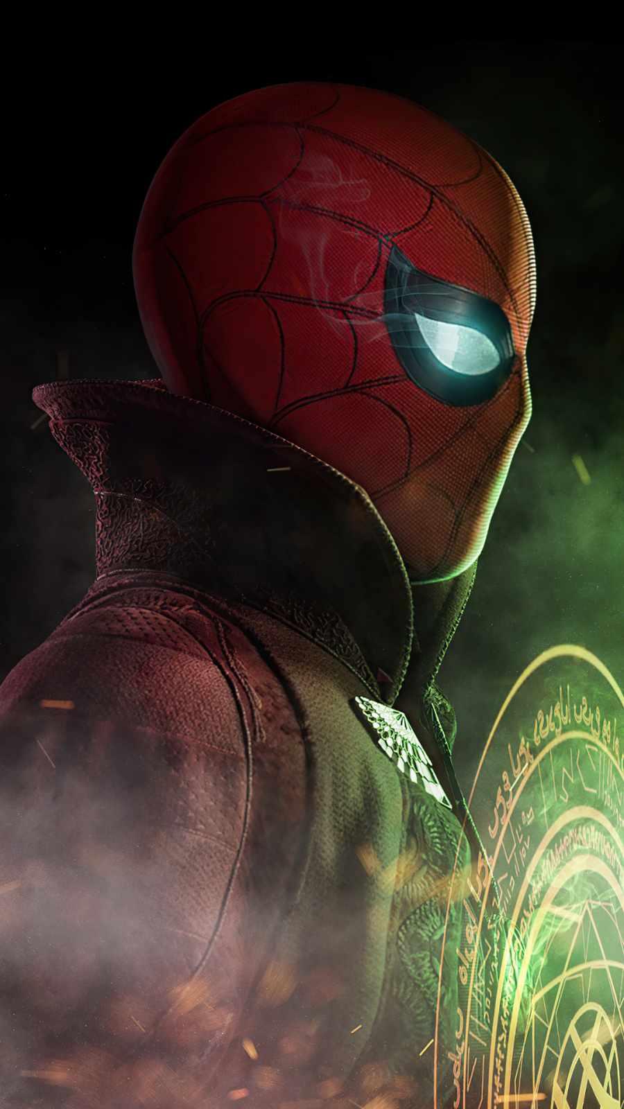 Spiderman x doctor strange