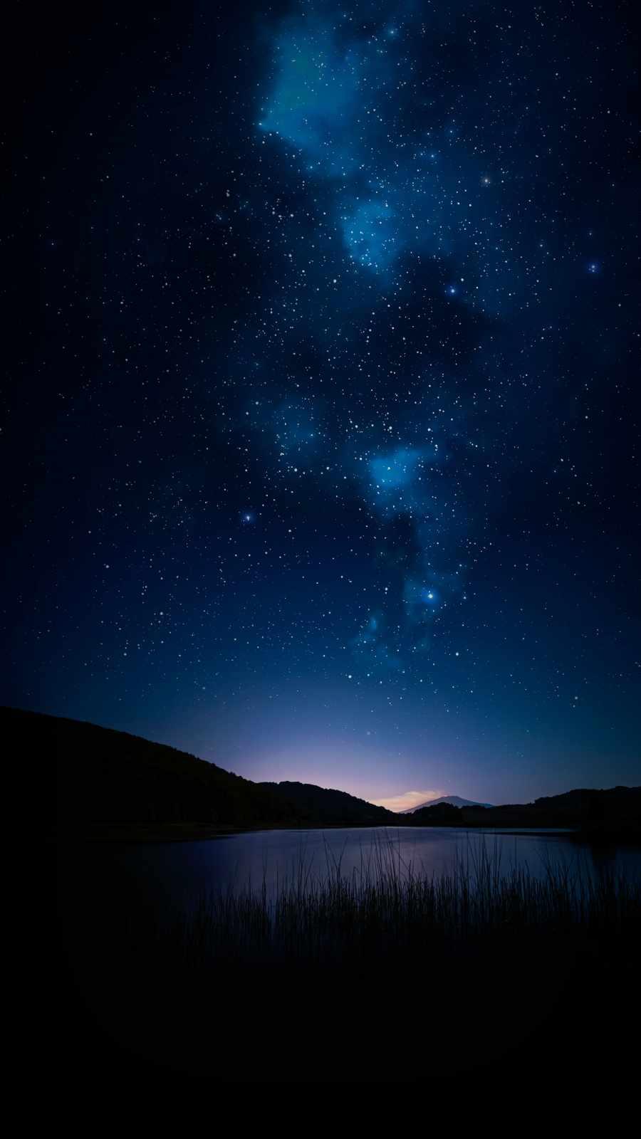 Star Night Lake