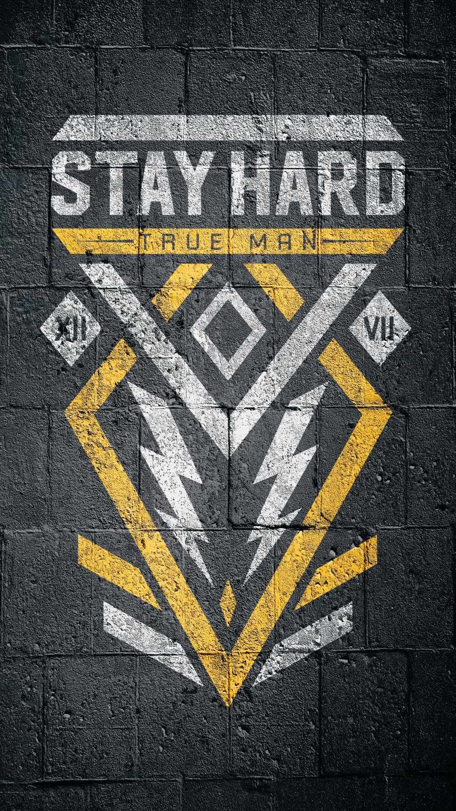 Stay Hard iPhone Wallpaper