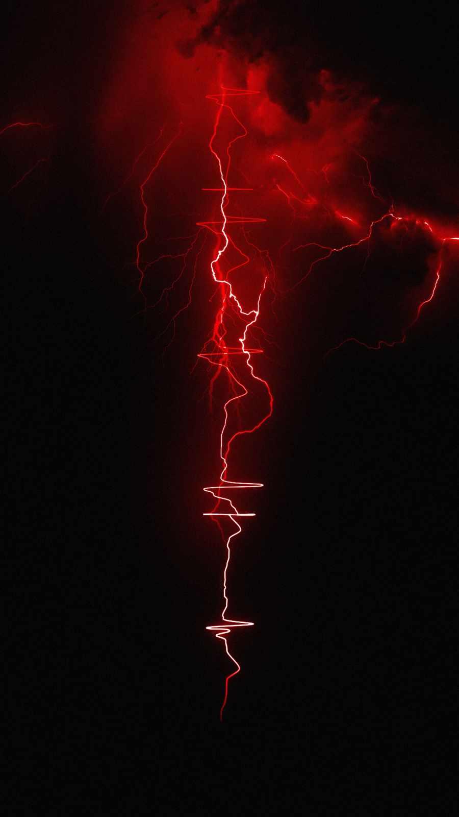 Thunder Beats iPhone Wallpaper