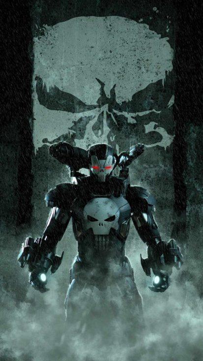 War Machine Punisher