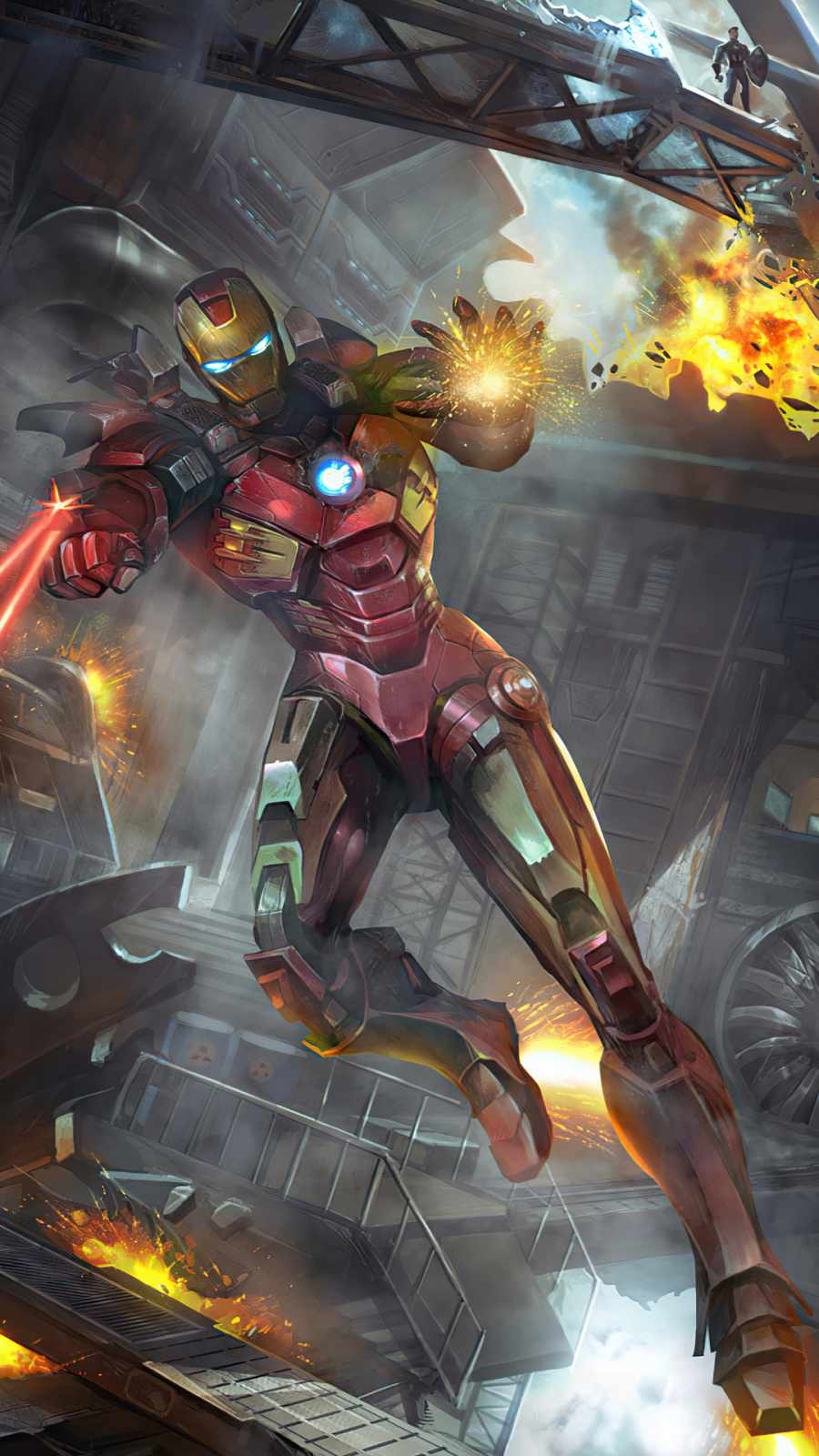 avengers ironman art