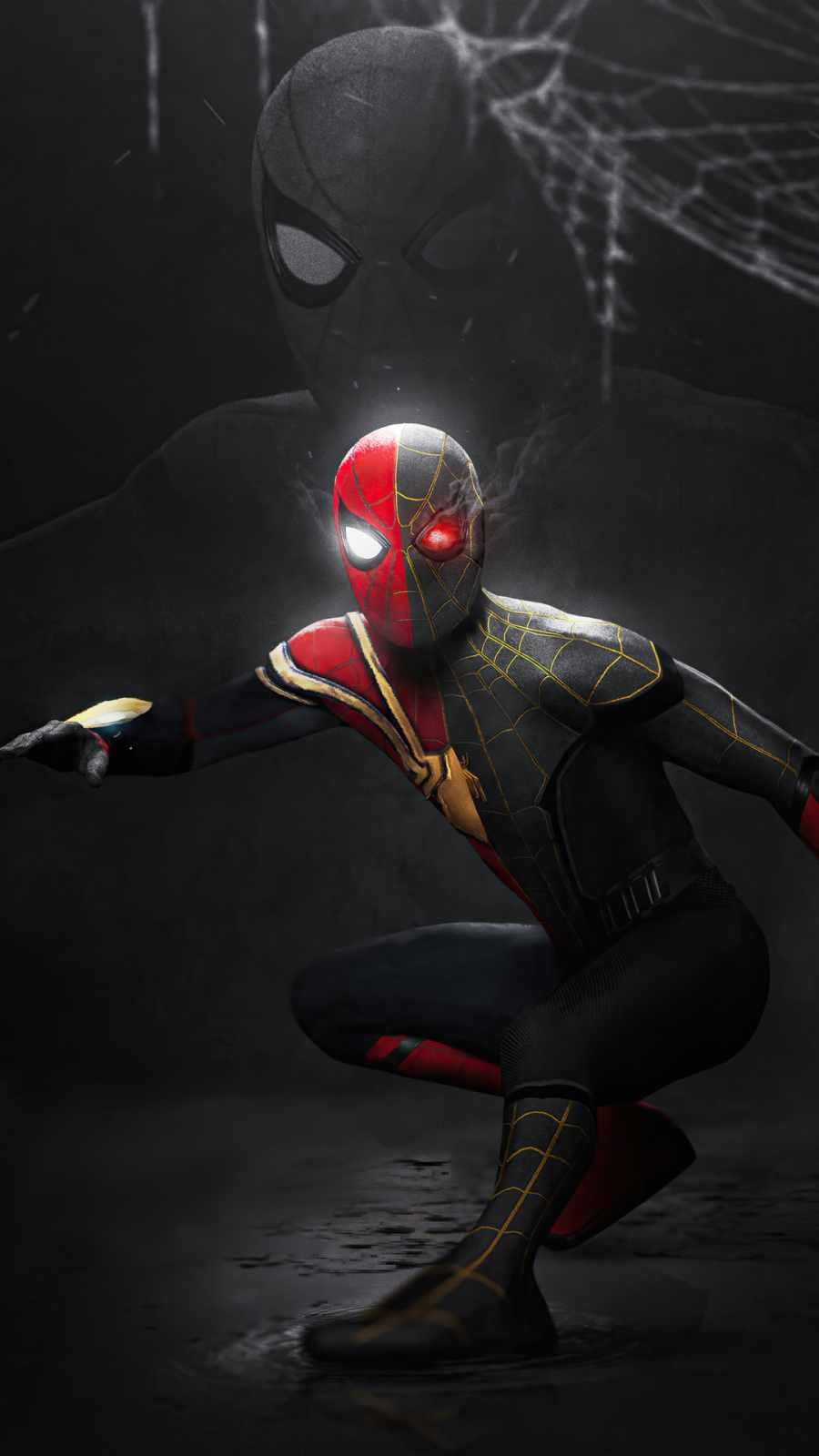 iron spider x gold suit