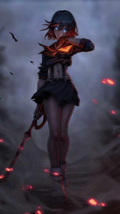 ryuko warrior girl