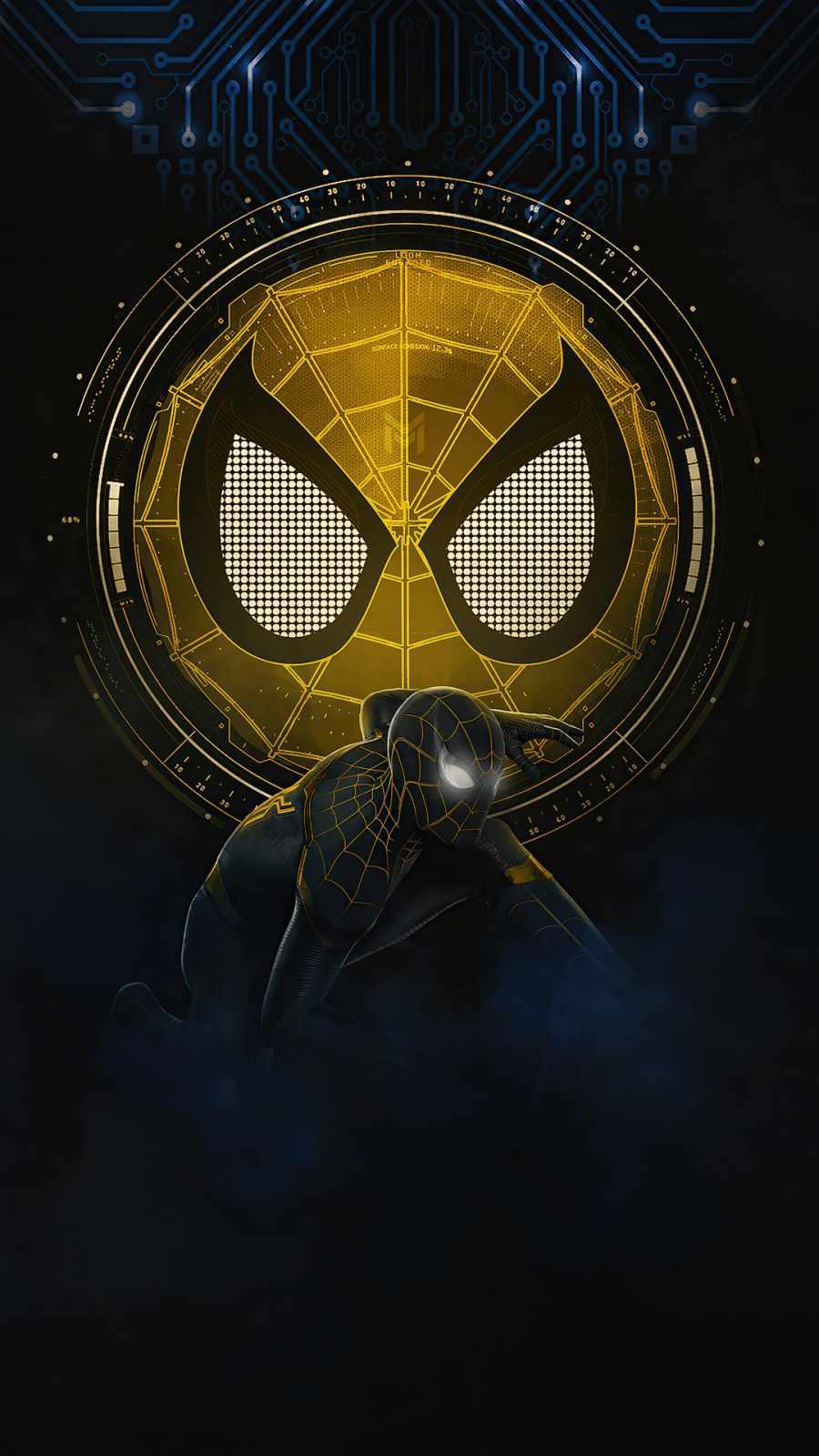 spider man no way home gold black suit