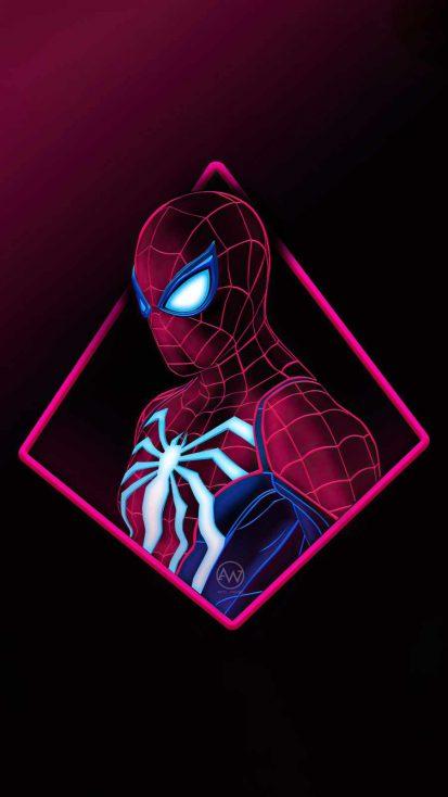 spiderman blur minimal