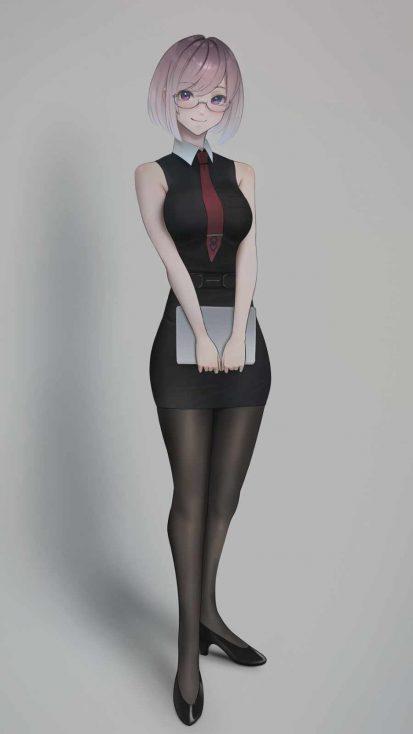 Anime Office Girl