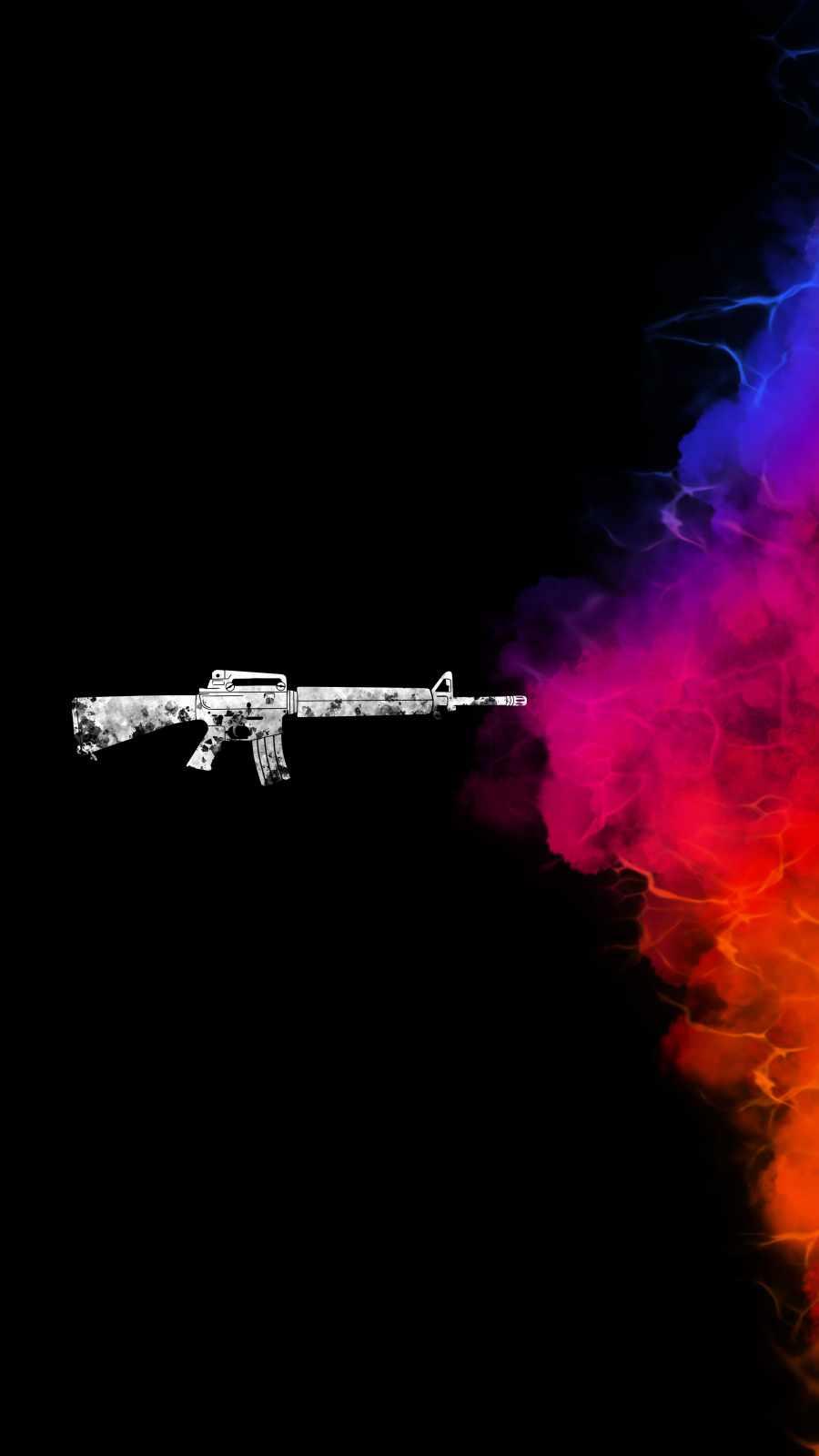 Color Fire iPhone Wallpaper