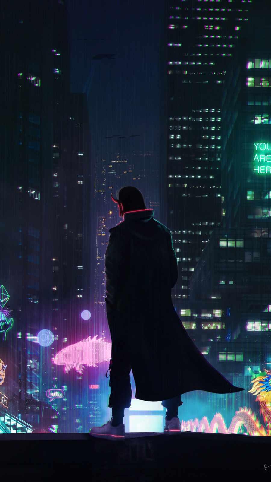 Cyber city devil