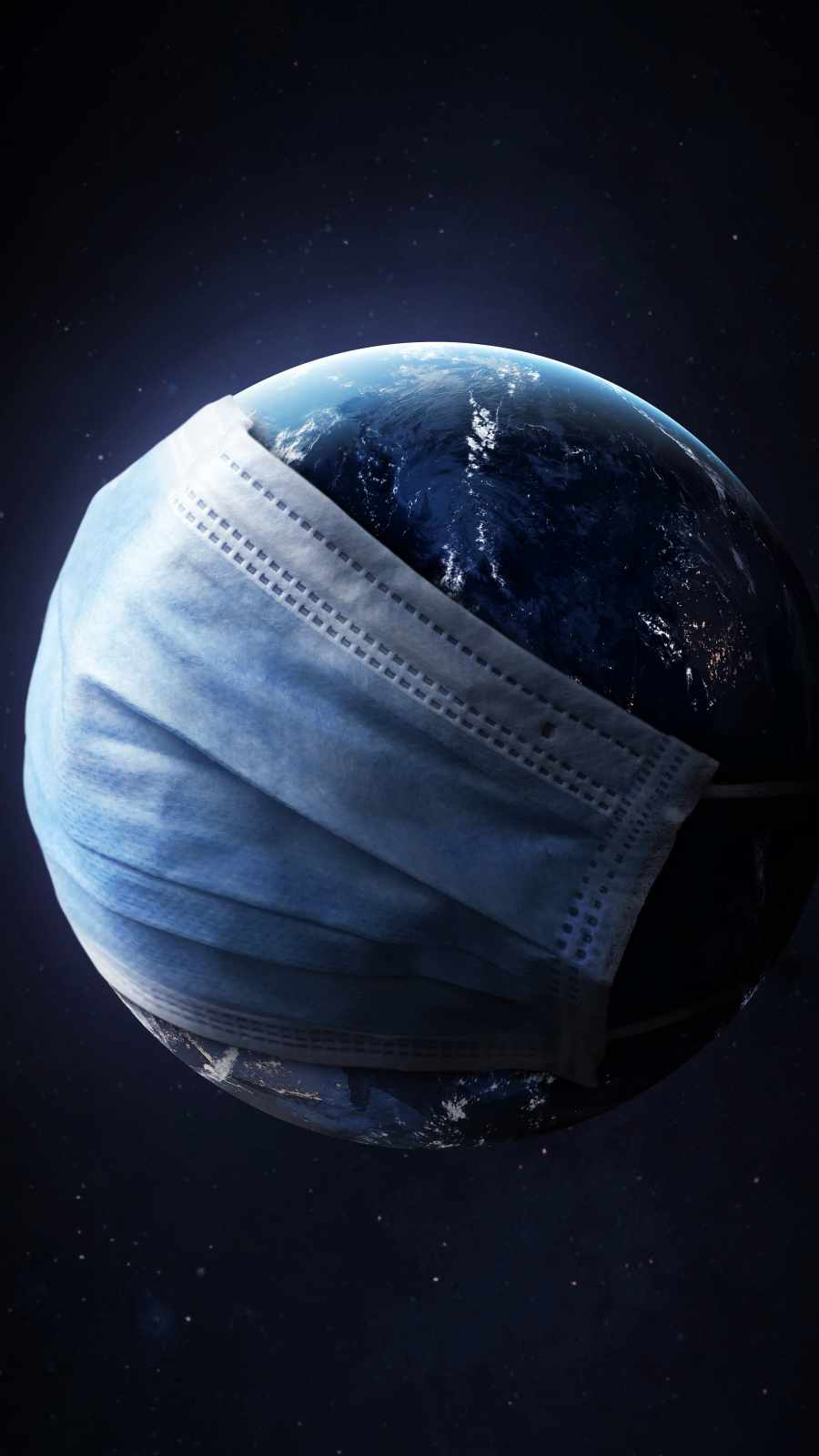 Earth in Mask