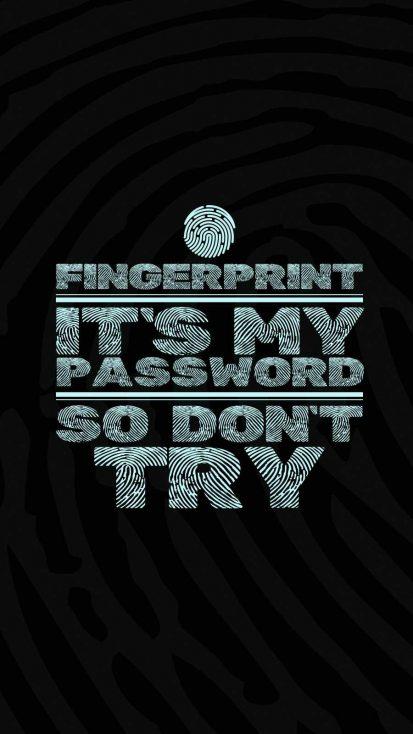 Fingerprint is my Passwrd