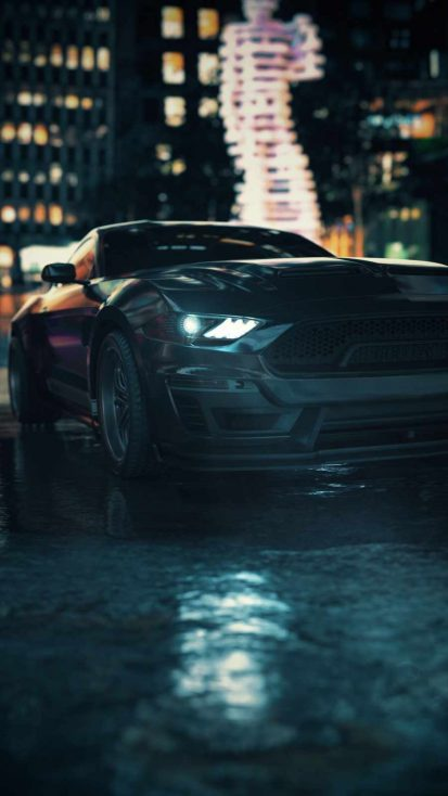Ford Mustang Night