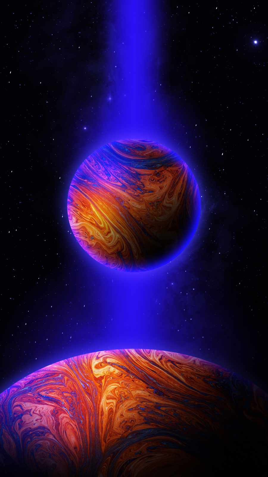 Future Earth iPhone Wallpaper