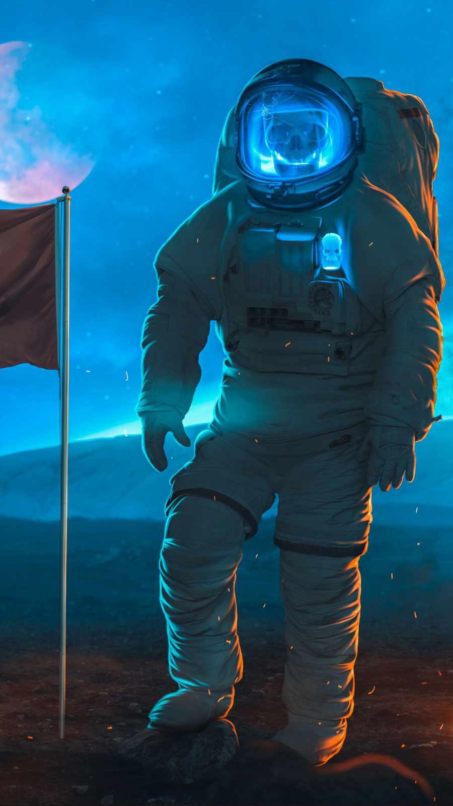 Ghost Astronaut