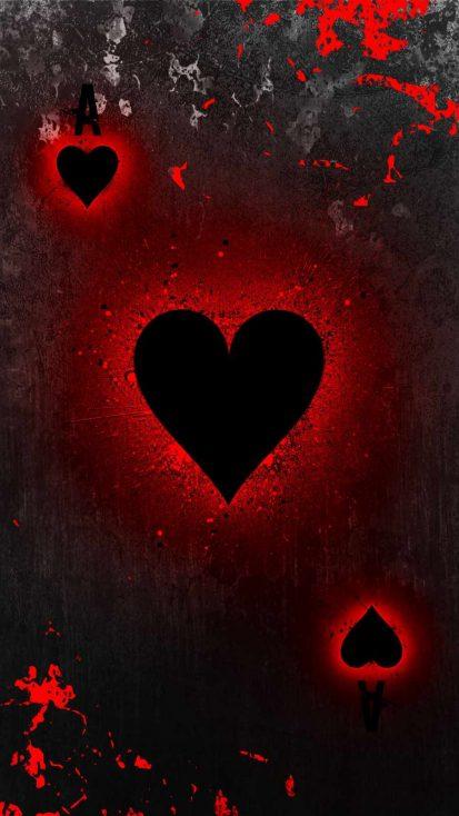 Heart Spade Card
