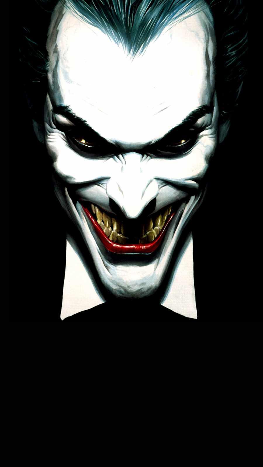Joker Smile iPhone Wallpaper