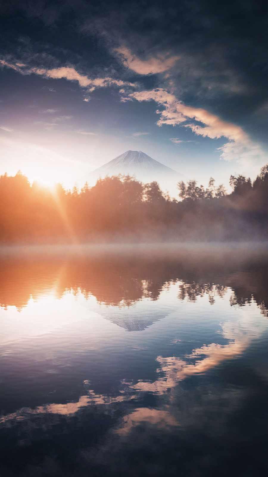 Lake Reflection Nature