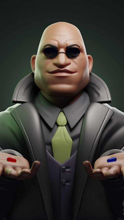 Matrix Morpeus Pill