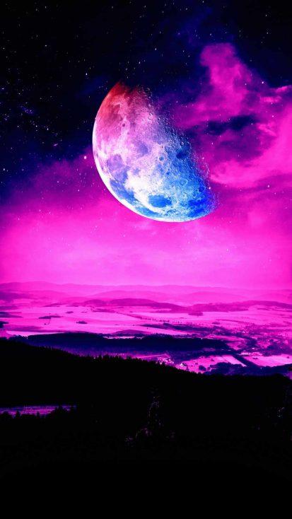 Moon Coming Close