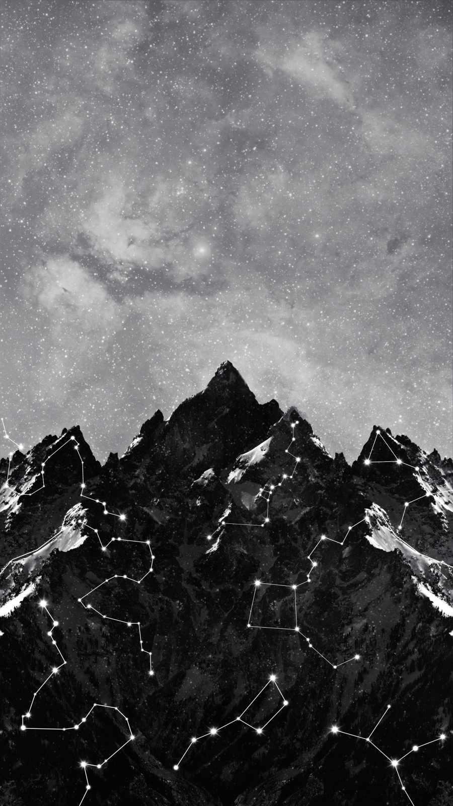 Mountain Star map