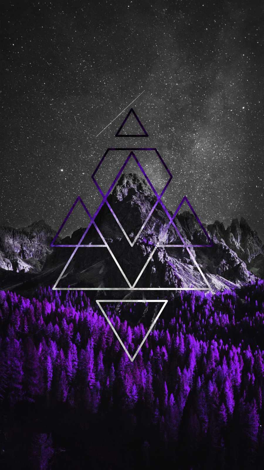 Mountain Triangle Art