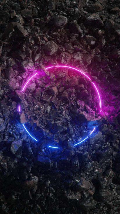 Neon Light Circle