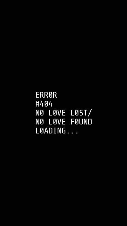 No Love Found