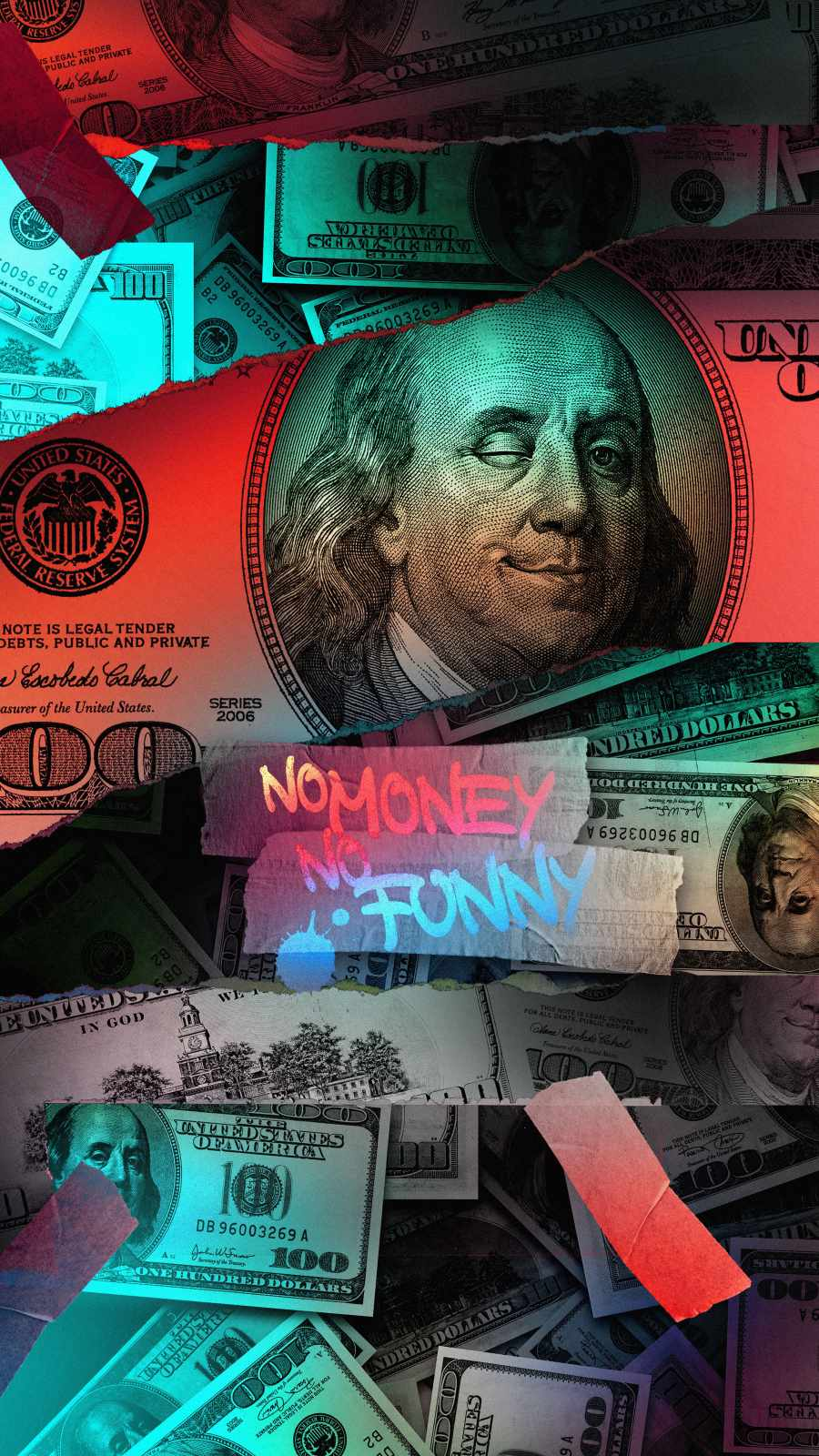 No Money No Funny iPhone