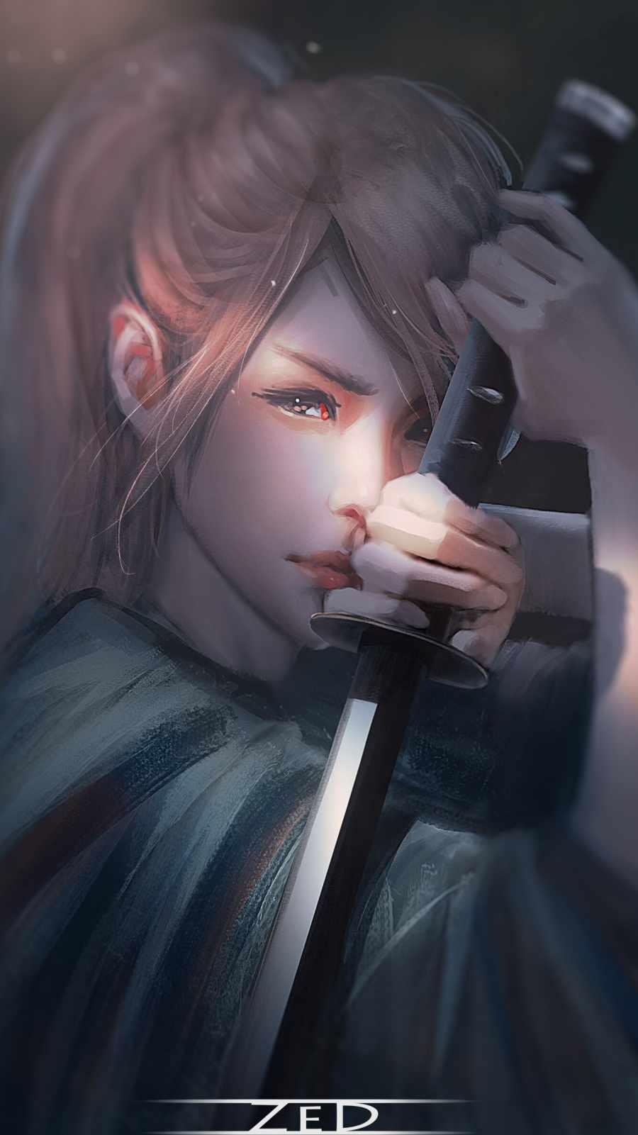 Samurai Girl Sword