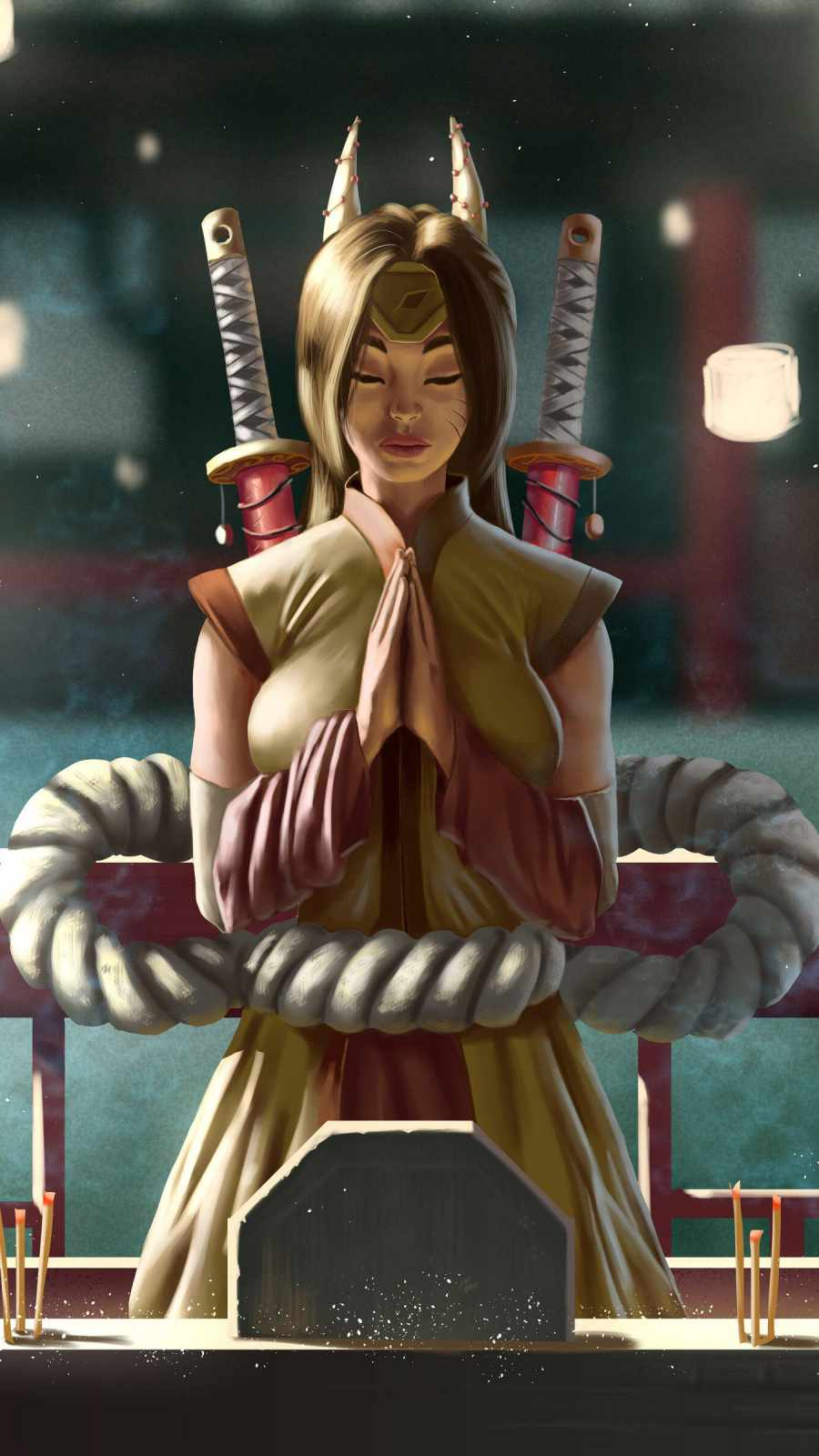 Samurai Warrior Girl