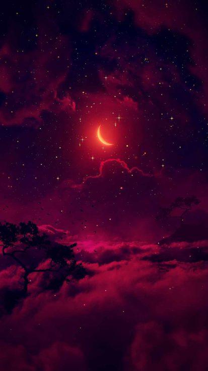 Twilight Sky iPhone Wallpaper