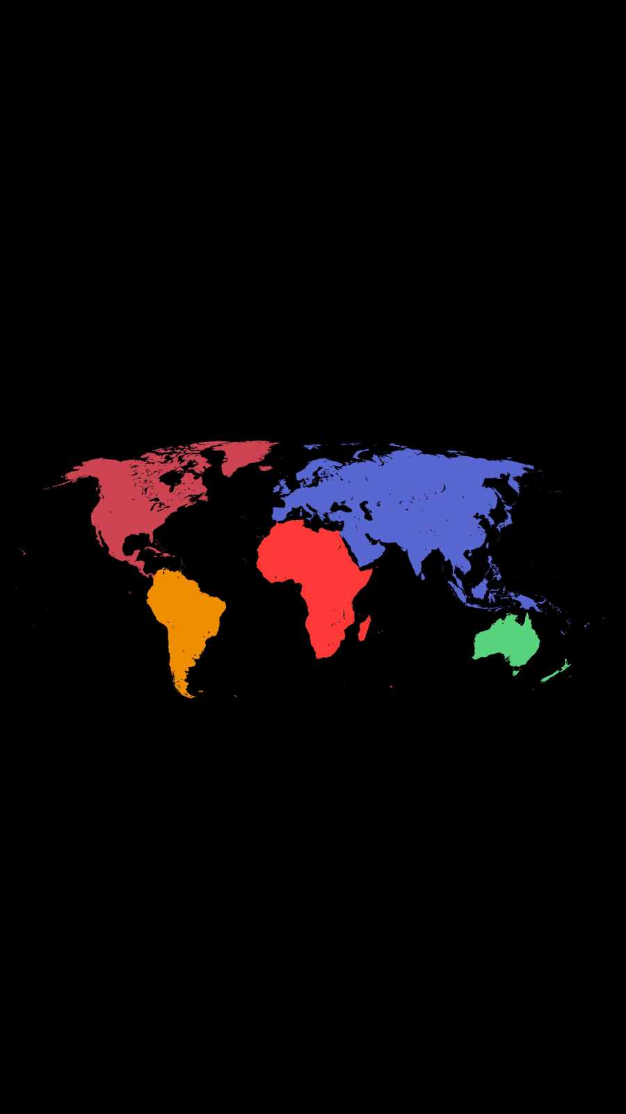 World Map Colors