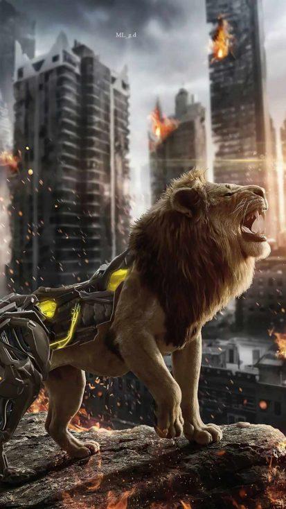 cyborg lion