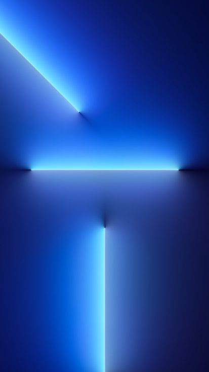 iPhone 13 Pro wallpaper blue