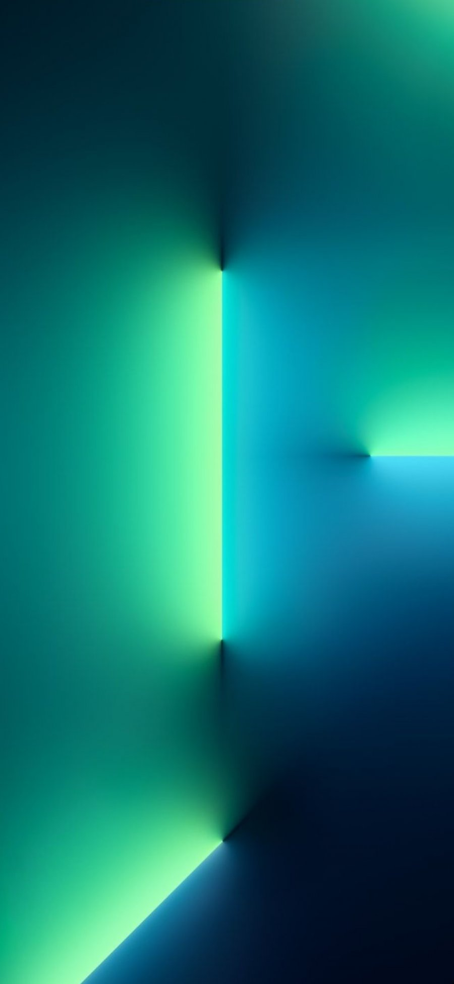 iPhone 13 Pro wallpaper green