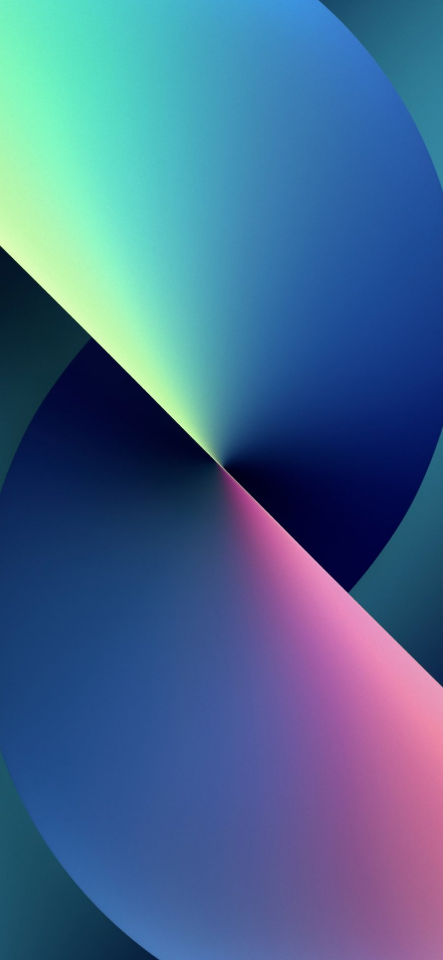 iPhone 13 wallpaper multi color
