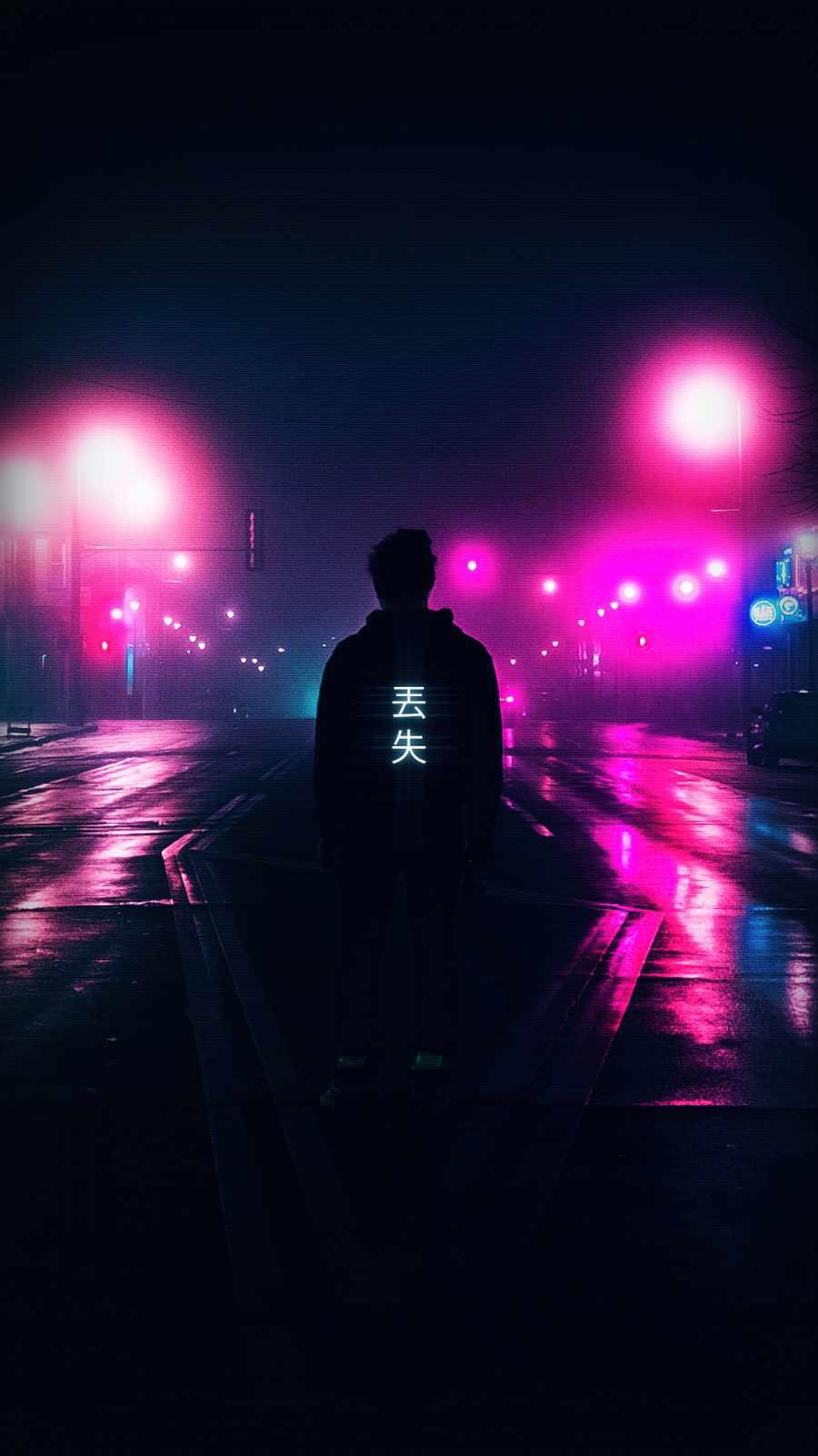neon light guy