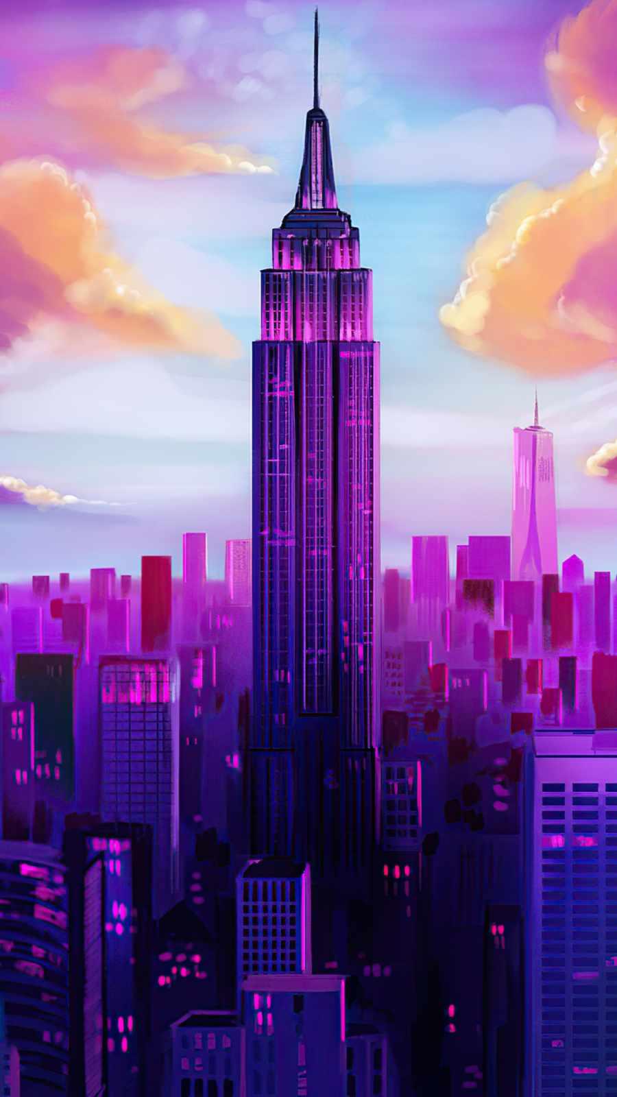 tall buildings New York