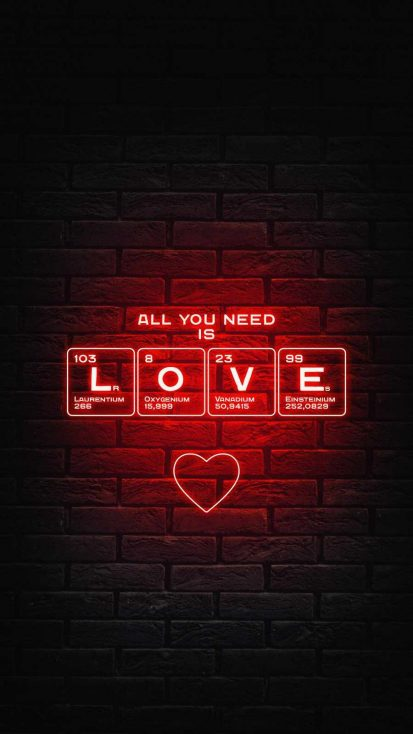 All you Need is Love iPhone Wallpaper