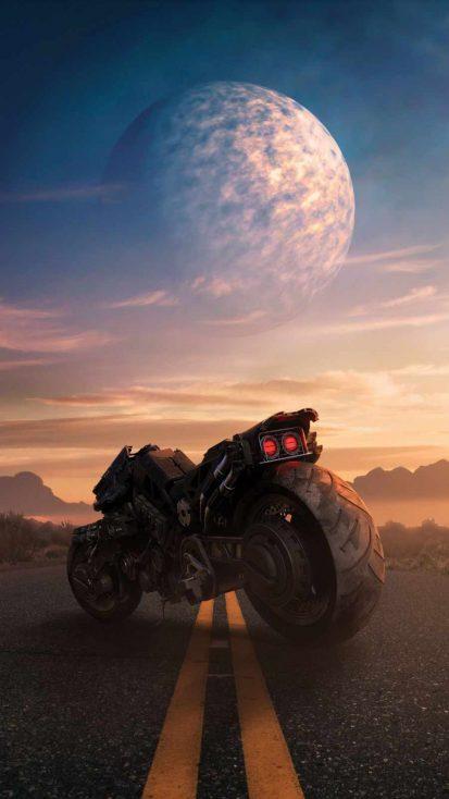 Apocalyptic Motorcycle