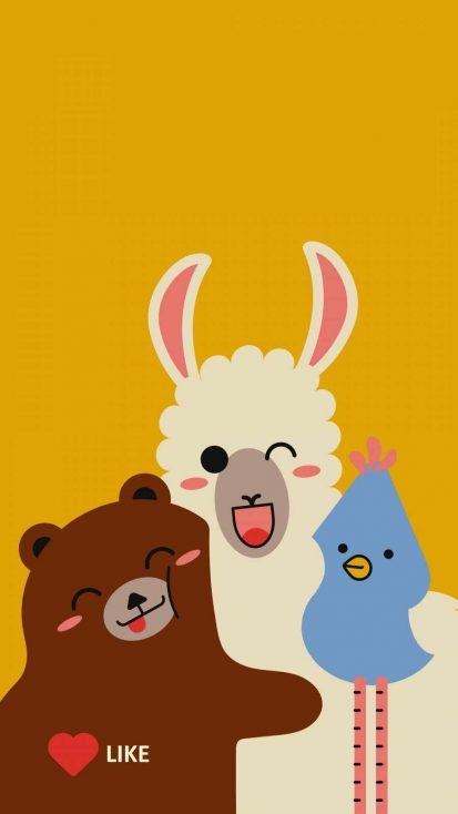 Best Friends iPhone Wallpaper
