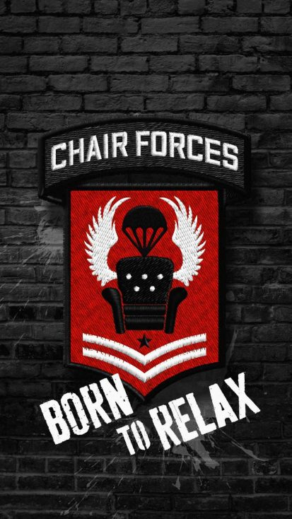 Chair Forces iPhone Wallpaper