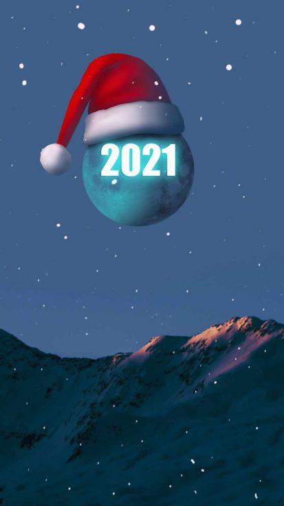 Christmas 2021 iPhone Wallpaper