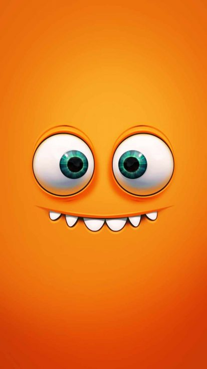 Crazy Smile iPhone Wallpaper