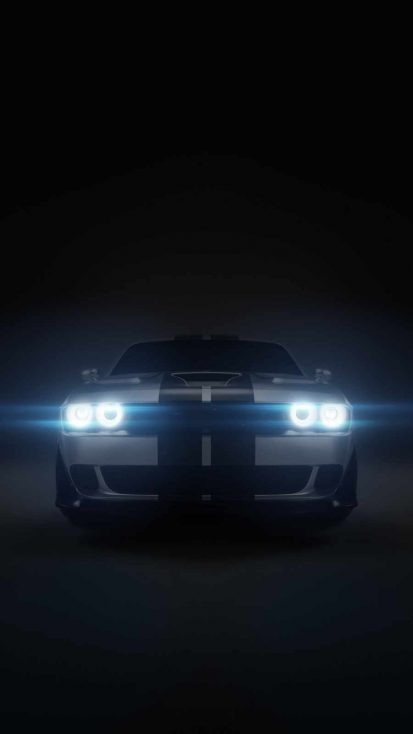 Dodge Challenger HD iPhone Wallpaper